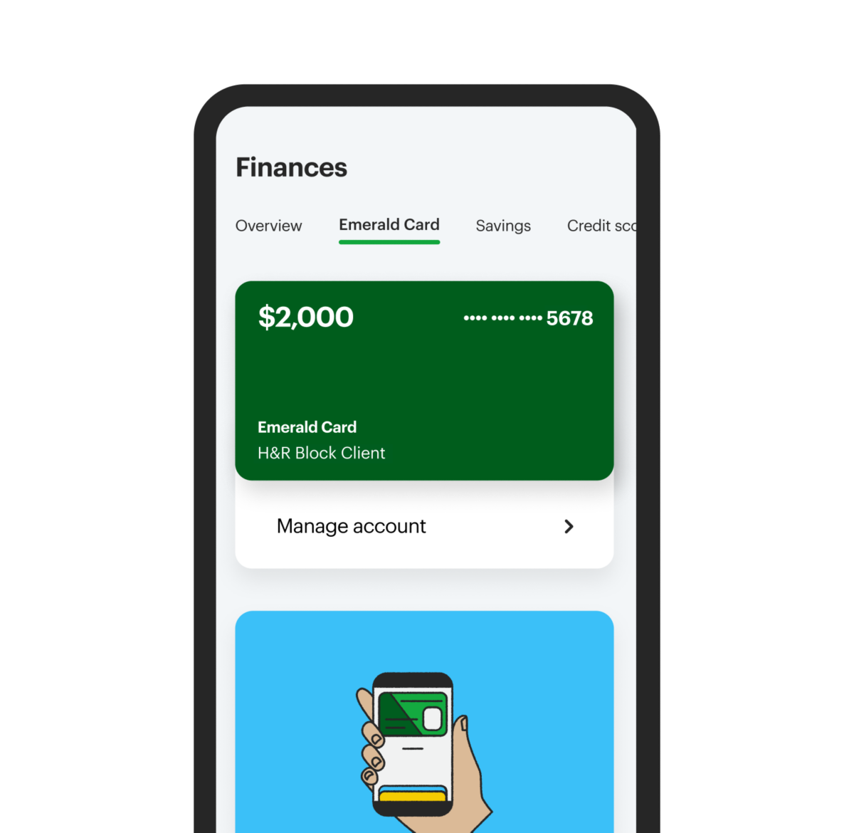 manage finances with myblock app