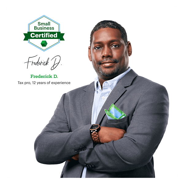 Tax Pro Frederick D. with 12 years of experience
