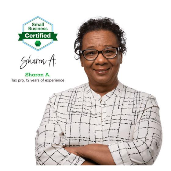 Tax Pro Sharon A. with 12 years of experience