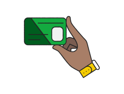 Easy access with the H&R Block Emerald Card