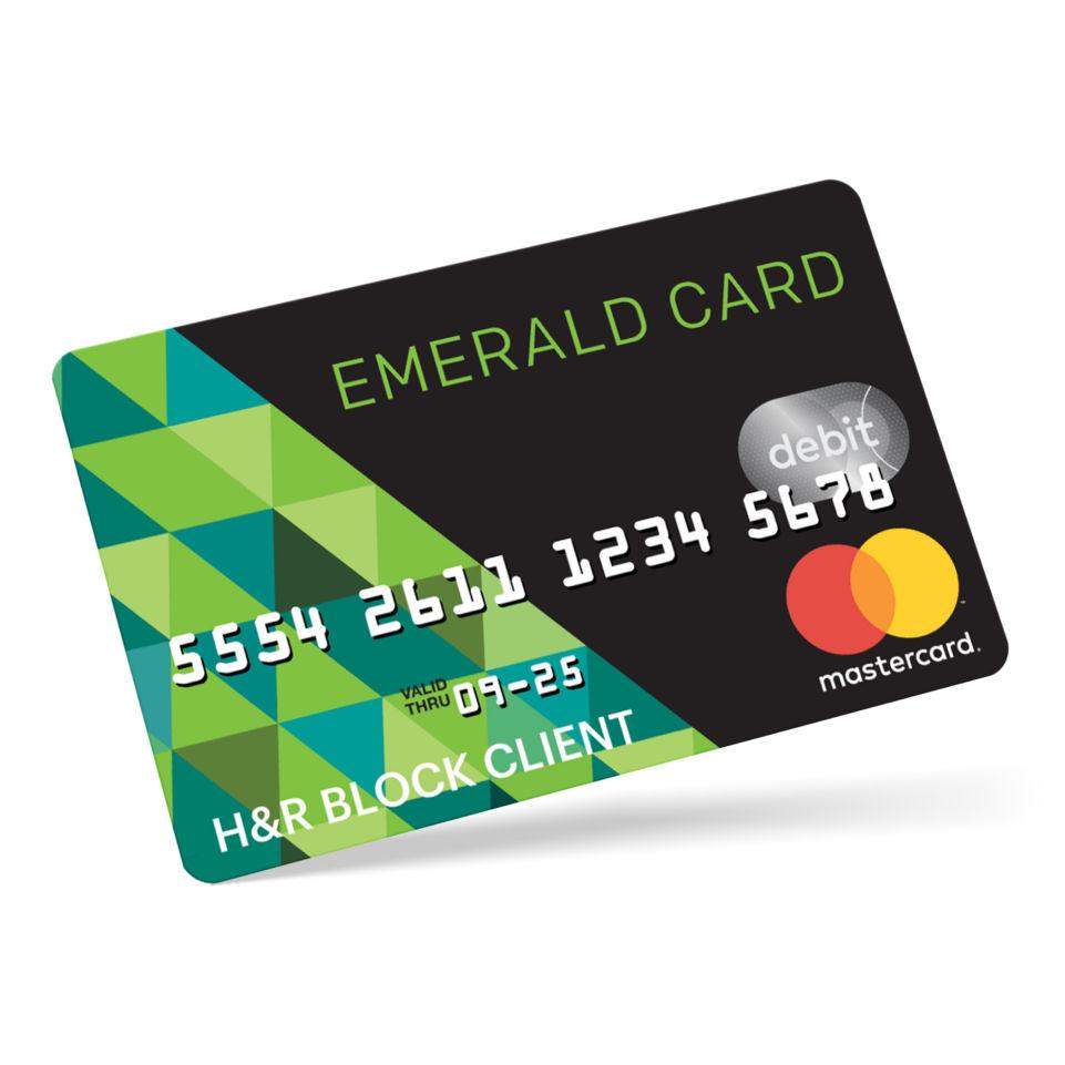 Emerald savings card