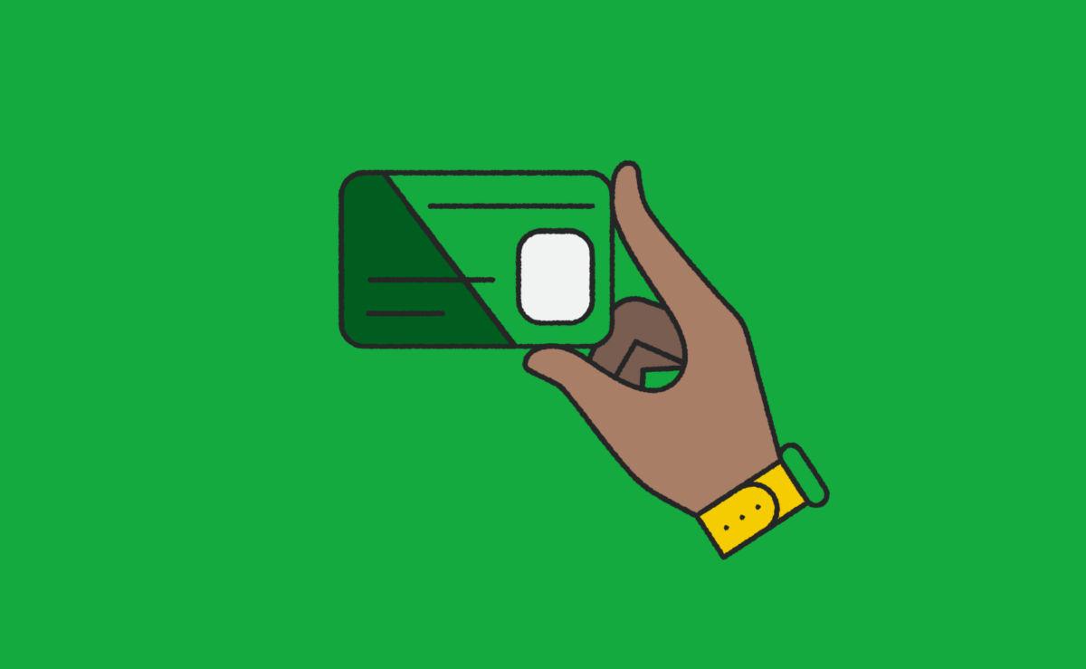 Emerald card